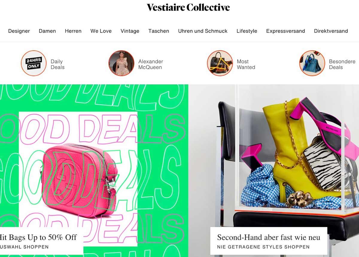 Vestiaire Collective wird aktuell mit mehr als 1 Milliarde Dollar bewertet.