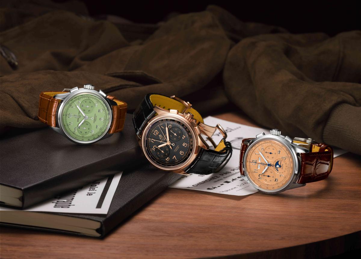Premiere Heritage Uhren bieten einige der berühmtesten Komplikationen von der Rattrapante bis zum Jahreskalender mit einem raffinierten Geist aus den 1940er Jahren.e