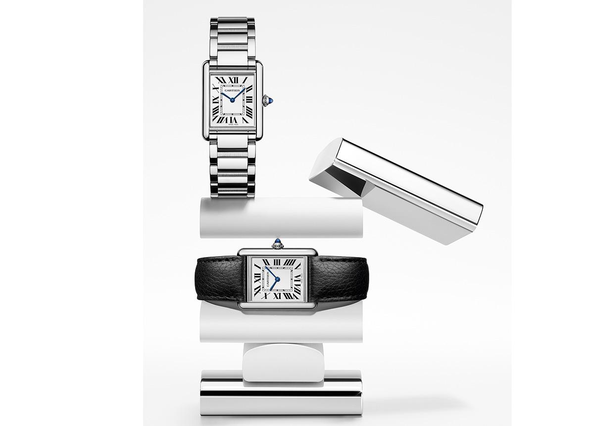 Die Cartier Tank Must vereint in sich zwei Ikonen.