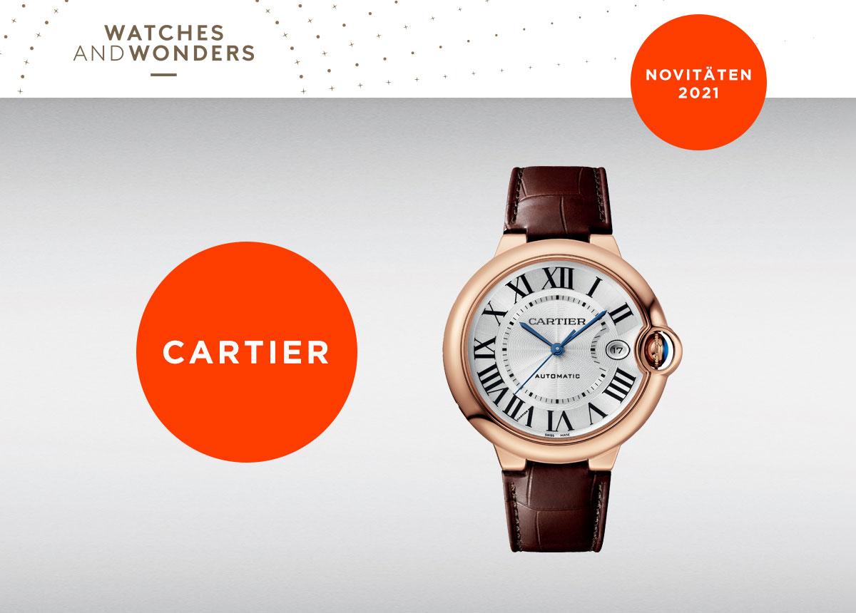 Die neue Cartier Ballon Bleu hat einen Durchmesser von 40 mm.