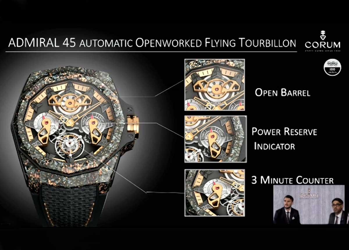 Corum-Admiral-45-Automatic-Openworked-Flying-Tourbillon-Praesent