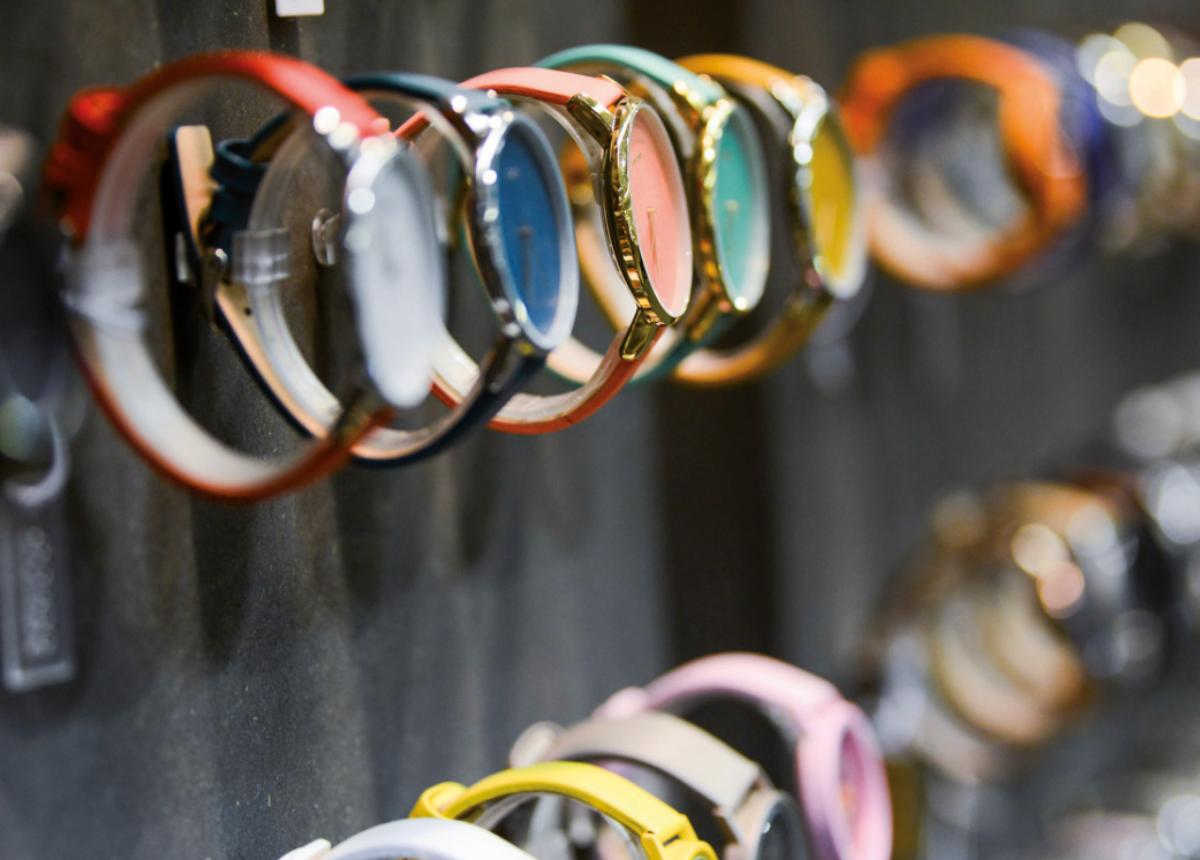 Auch bei der kommenden Messe werden neben Schmuck, Edelsteinen und Perlen auch Uhren ausgestellt.