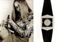 Die erste Junghans Quarz-Armbanduhr Astro-Quartz aus dem Jahr 1971: Das Design spiegelt die Quarz-Kristallform wider.
