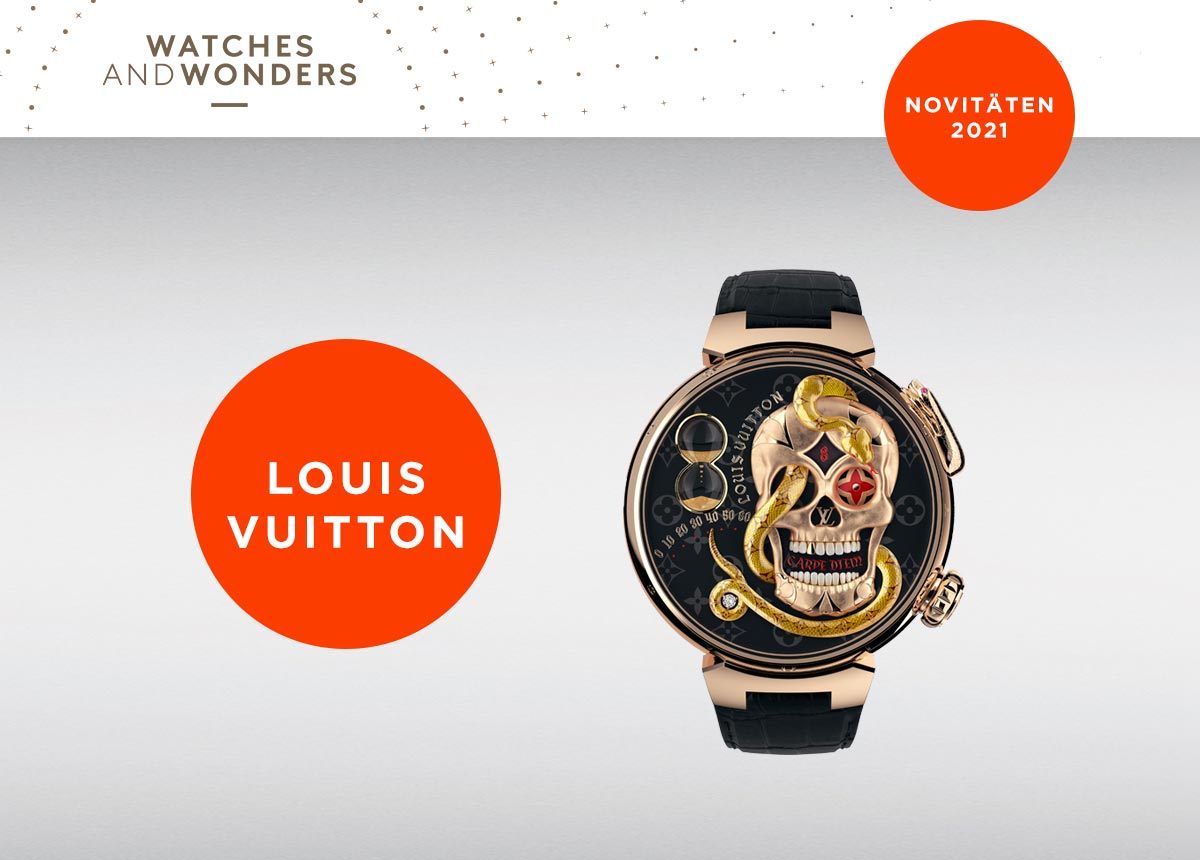 Die Louis Vuitton Tambour Carpe Diem
