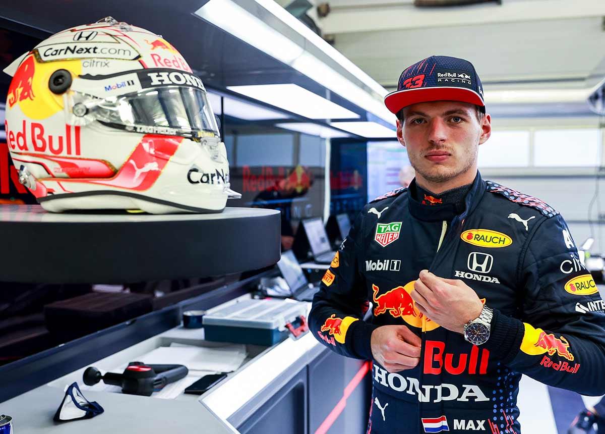 Max Verstappen ist seit 2016 für Red Bull Racing am Start.
