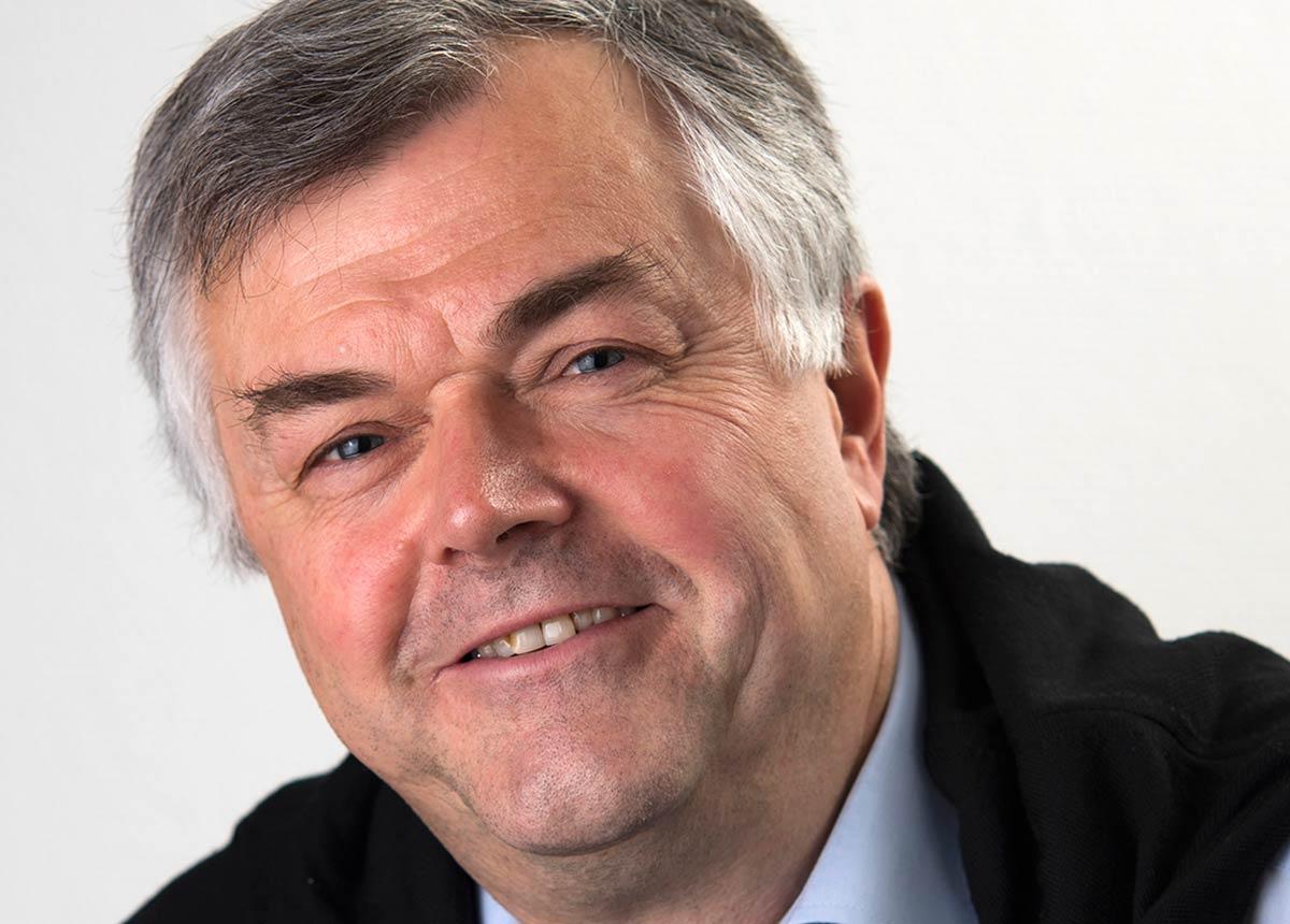 Alex Schickel, Geschäftsführer der Ferdinand Eisele GmbH mit ihrer Marke eXtra4 Labelling Systems.