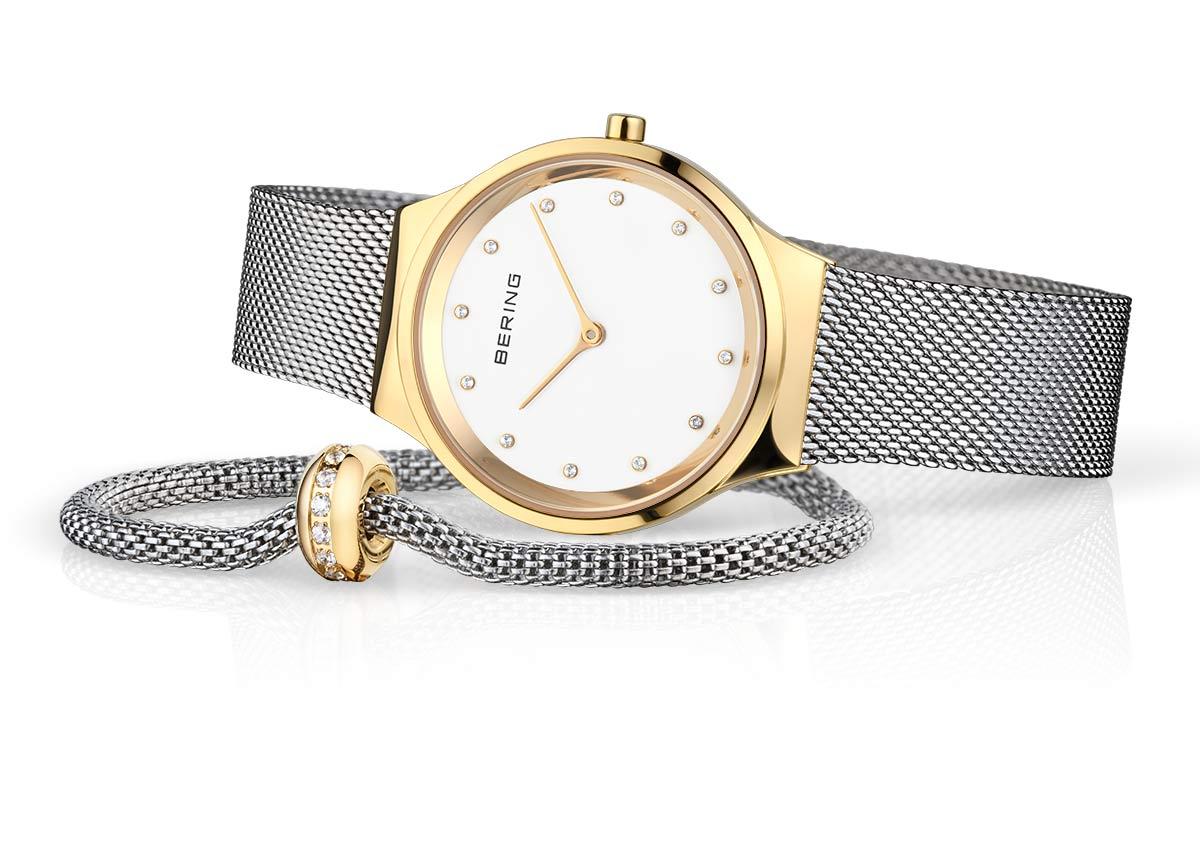 Uhr, Armband und Charm sind zum Mut ter tag als Set für nur 139,- € (UVP, statt 189,- €) online und im Fachhandel erhältlich.