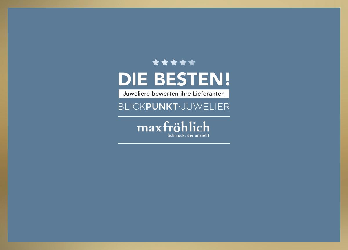 """Zu den """"Besten 2021"""" aus der Kategorie Lieferanten Silberschmuck zählen Marken wie Max Fröhlich, Spirit Icons, Wilhelm Mueller und Stütz (Xenox)."""