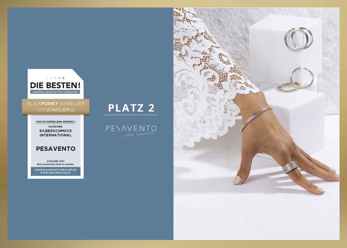 Pesavento_Lieblingslieferant_Silberschmuck_International_Die_Besten_2021_Lieferanten