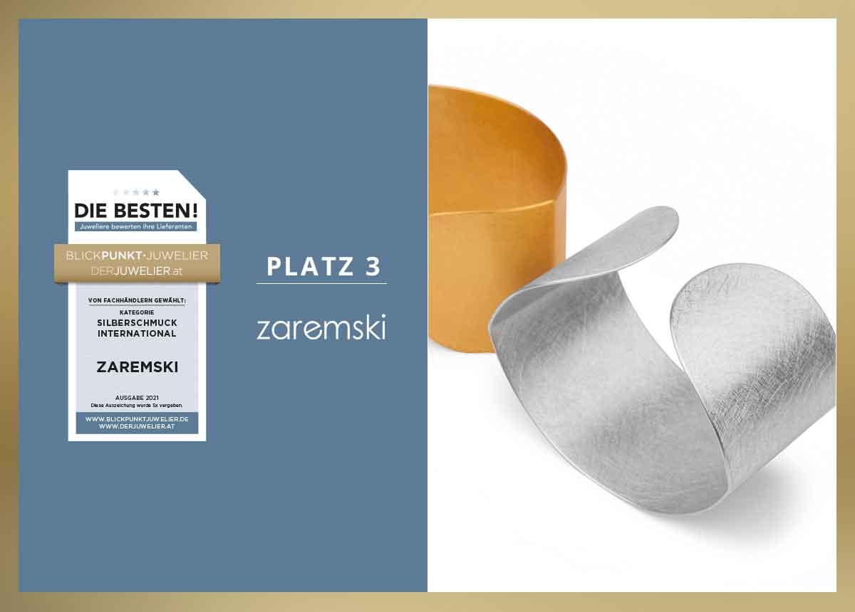 Zaremski_Lieblingslieferant_Silberschmuck_International_Die_Besten_2021_Lieferanten