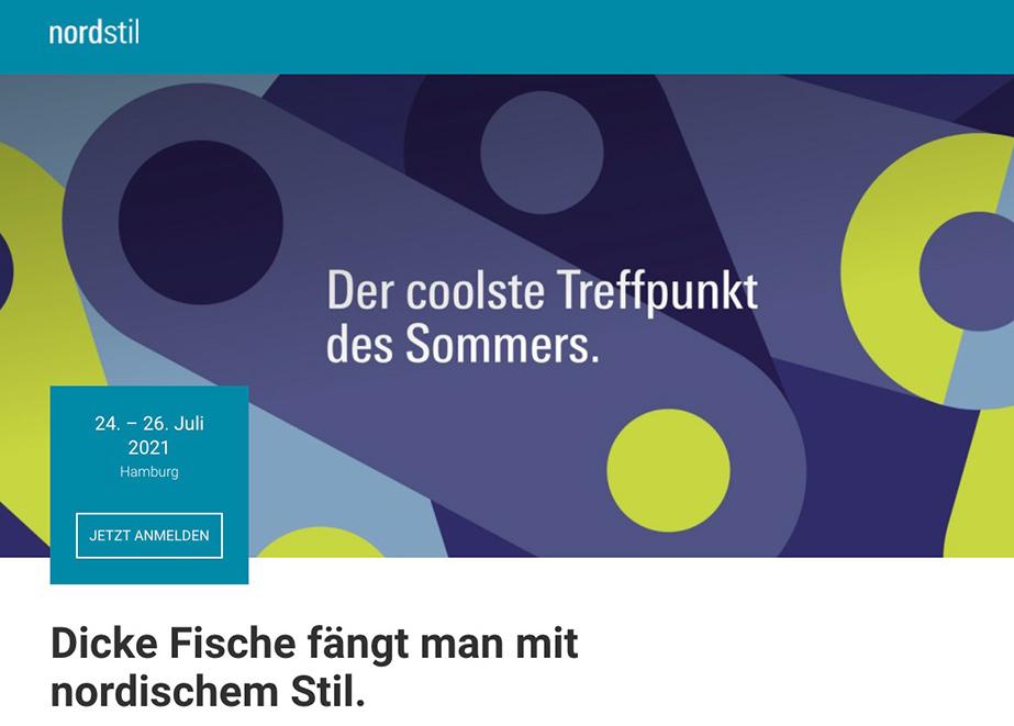 Im Juli empfängt die Nordstil wieder Aussteller und Einzelhändler auf dem Hamburger Messegelände.