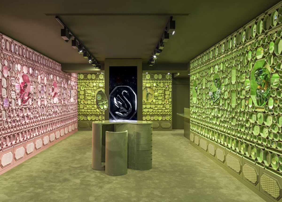 Die neuen Stores sollen nach dem Vorbild des Pariser Stores entstehen. (Foto: Swarovski)