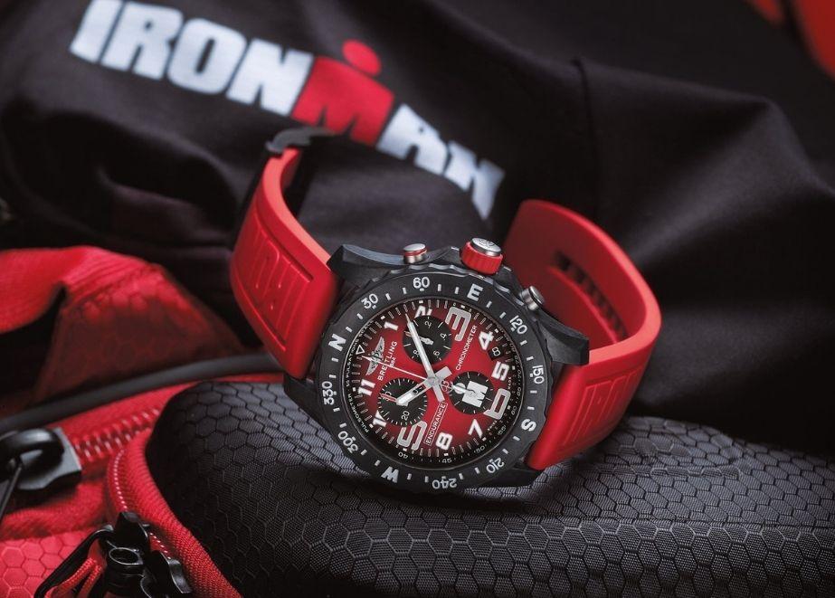 Als neue offizielle Luxusuhr von Ironman zelebriert Breitling das Sportevent mit einer neuen Kollektion von Zeitmessern.