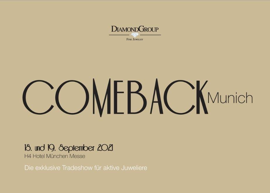 Am 18. und 19. September stellen im H4 Hotel München bekannte Marken wie Capolavoro und Diamond Group ihre Neuheiten vor.