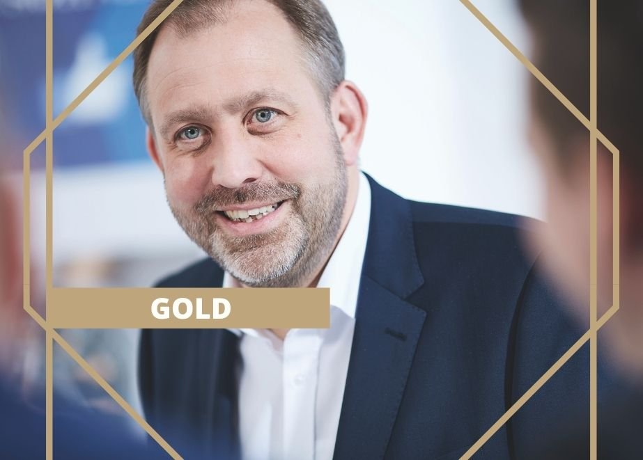 Guido Abeler von Carl Engelkemper Münster hat schon immer auf Gold gesetzt.