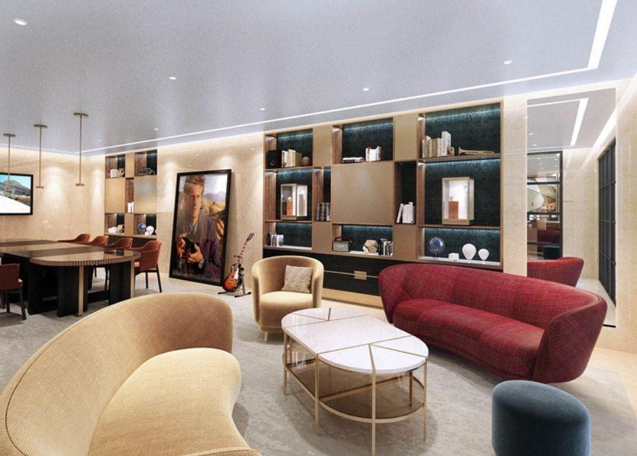Vacheron Constant New York City Flagship-Lounge