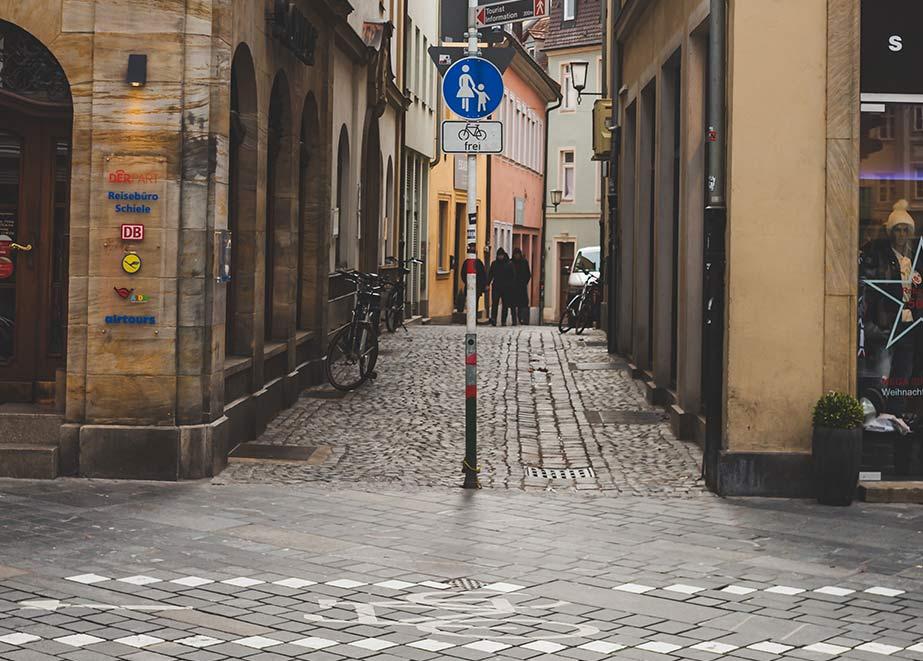 Juwelier Topas gibt das Geschäft in der Innenstadt von Bamberg auf. (Credit: phaustov / Shutterstock)