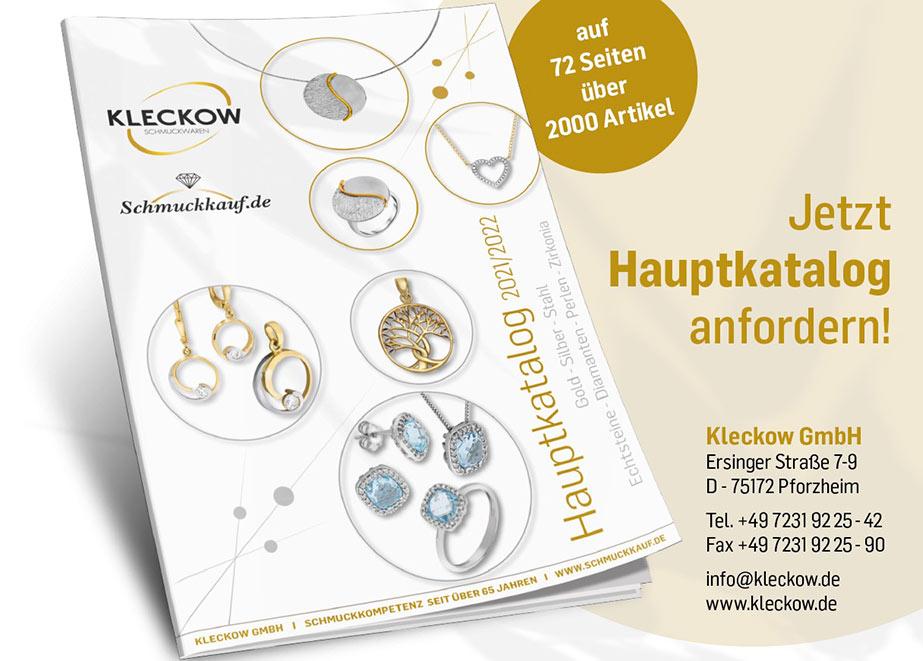 So sieht das Cover des Katalogs von Kleckow aus.