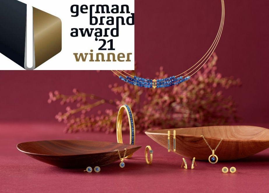 """Branchenübergreifend wurde Bernd Wolf als einzige Marke Gewinner des """"German Brand Awards 2021"""" in der Kategorie """"Excellent Brands Luxury""""."""