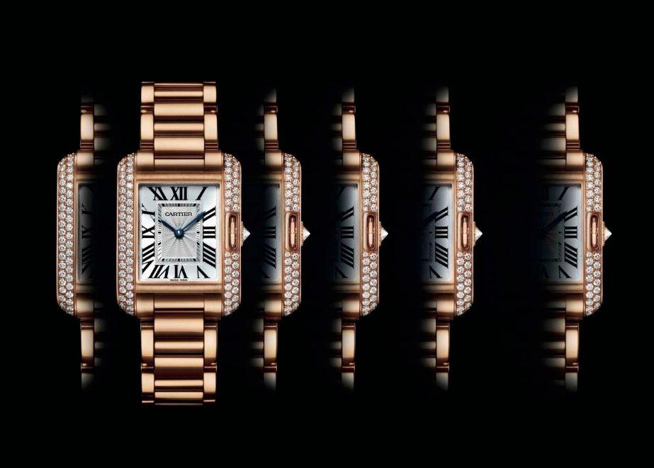 Cartier-Ausstellung der ikonischen Tank-Uhren in München: vom 10. bis 24. Juli.