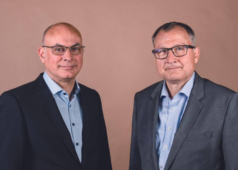 Heute wird das Unternehmen von Bernd Dahlinger (r.) und Valerio d'Adamo geleitet.