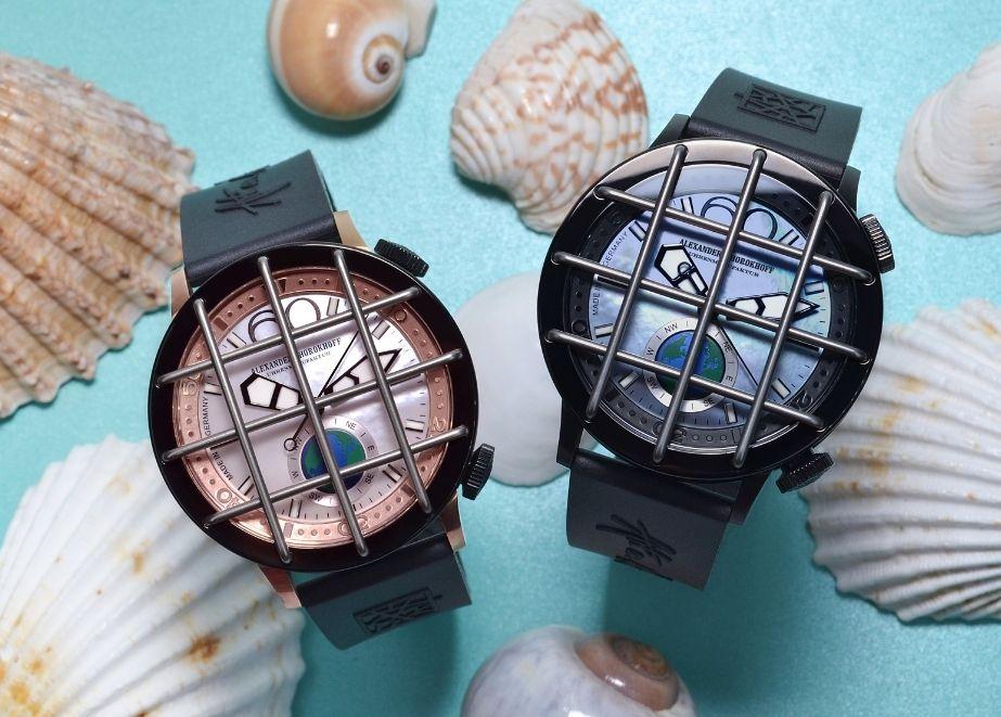 Unzerbrechlich. Deep Ding, die erste Uhr von Alexander Shorokhoff mit 10 bar Wasserdichte.