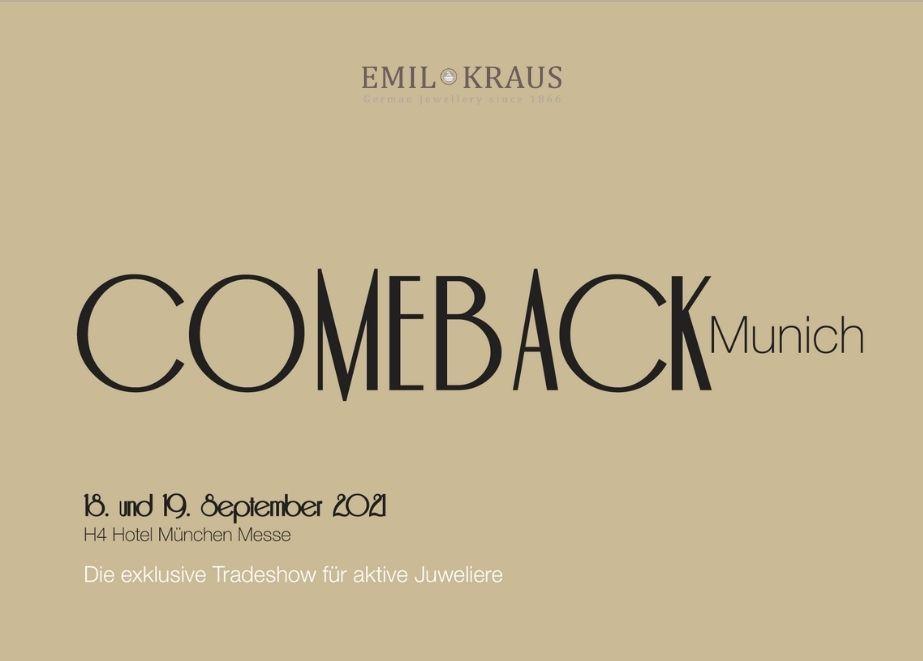 Manschettenknöpfe, Ketten, Geldscheinklammern und Siegelringe – Emil Kraus wird im September in München ein vielfältiges Sortiment präsentieren.