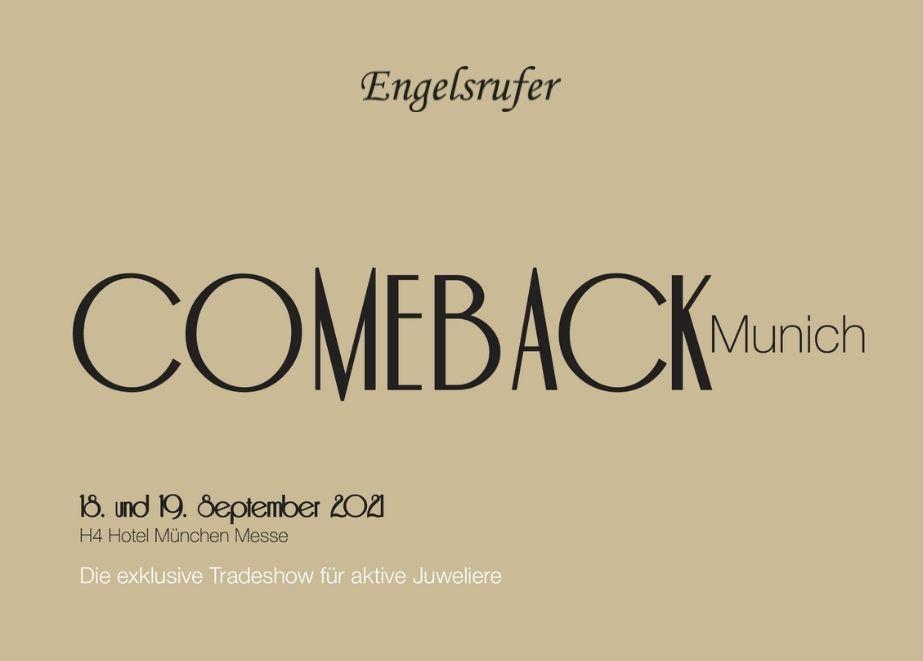 """Schmuckzeit/ Engelsrufer auf der exklusiven Tradeshow """"Comeback Munich"""" mit Weihnachtsangebot und Offer zum Schulanfang."""