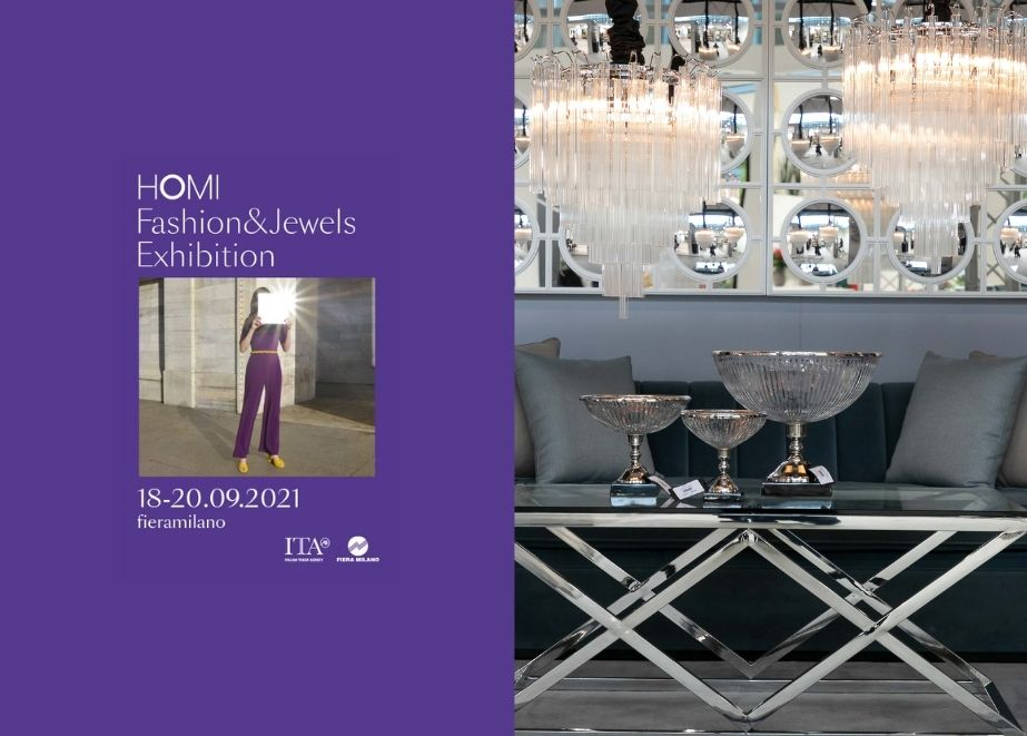 In Mailand findet vom 18. bis 20. September die HOMI Fashion & Jewels Messe mit Schwerpunkt Modeaccessoires statt.