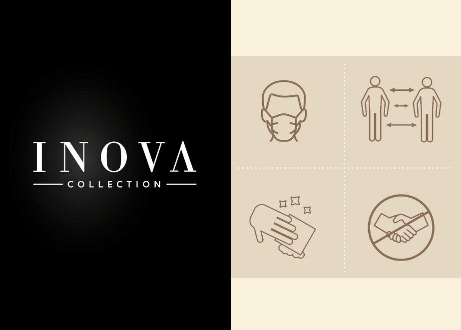 Die wichtigsten Sicherheits- und Hygienemaßnahmen der INOVA Collection im Überblick.