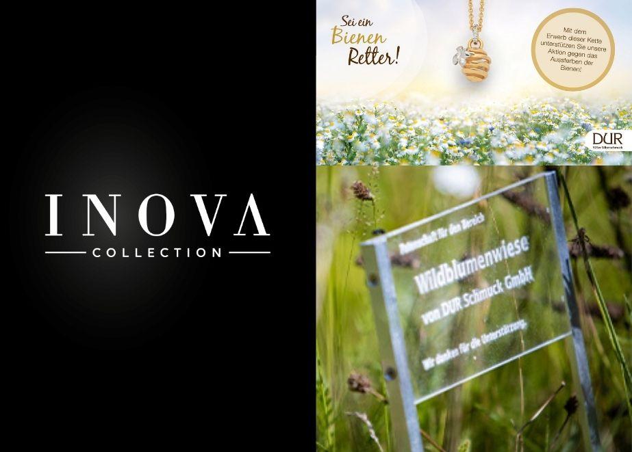 Auf der INOVA Collection präsentiert die Marke DUR Schmuck ihr Bienenset mit umfassender Marketing-Unterstützung für den P.O.S. und für Social-Media.