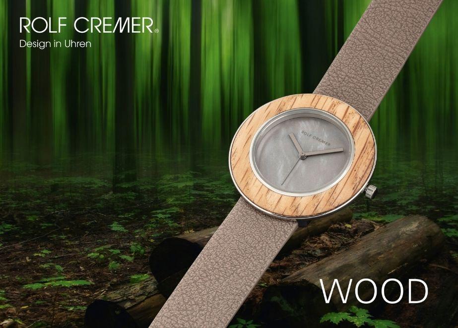 Die neue Wood-Serie überzeugt mit veganen Armbändern und neuen Holzmaserungen.