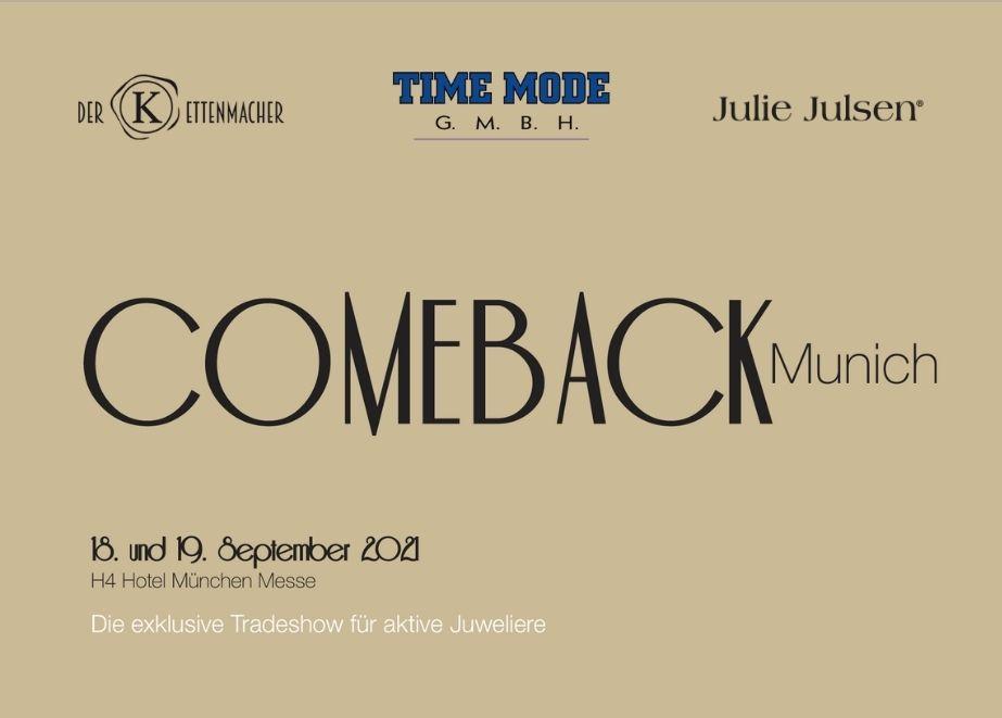 """Time Mode-Chef Rudi Moser verrät, warum er bei der exklusiven Tradeshow """"Comeback Munich"""" dabei ist und was er nach München mitbringen wird."""