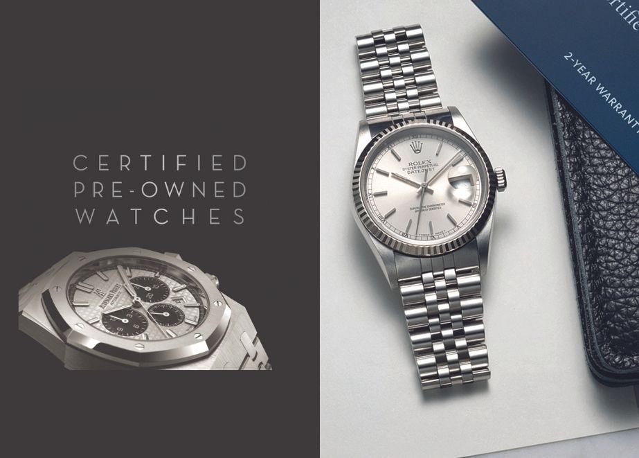Da die Uhrmacher von Bucherer auf alle Uhrenmarken und -modelle zertifiziert sind, erhält der Filialist von allen Manufakturen die Originalersatz-teile. Ein wichtiges Vekaufsargument im CPO-Business.