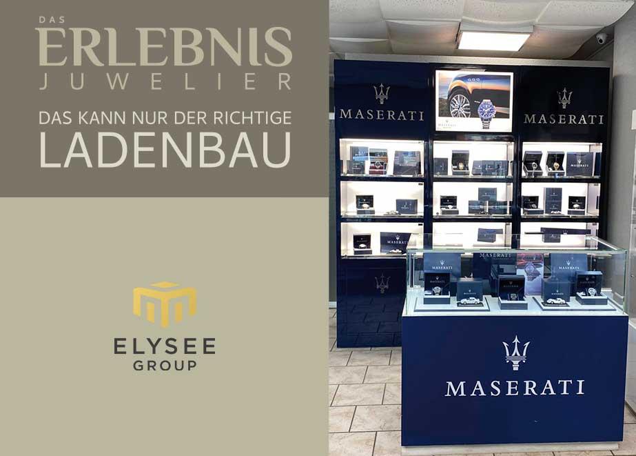 Die Elysee Group ist durch individuelle Verkaufsförderungen am P.O.S. ein kompetenter und starker Partner für den Fachhandel.