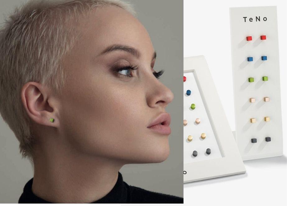 Design-Ohrschmuck in Farbe und Qualität: Die neuen Ohrstecker von TeNo passen mit ihrer großen Farbauswahl und dem reduzierten Design zu jedem Outfit und Geschmack.