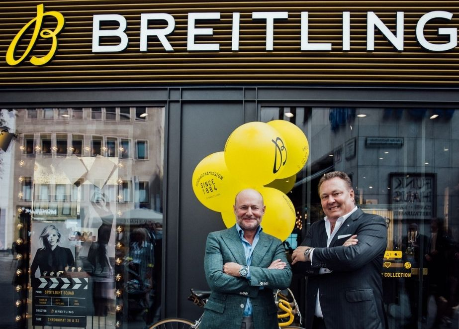 Breitling_Boutique_Koeln_Willy_Rueschbeck_Georges_Kern