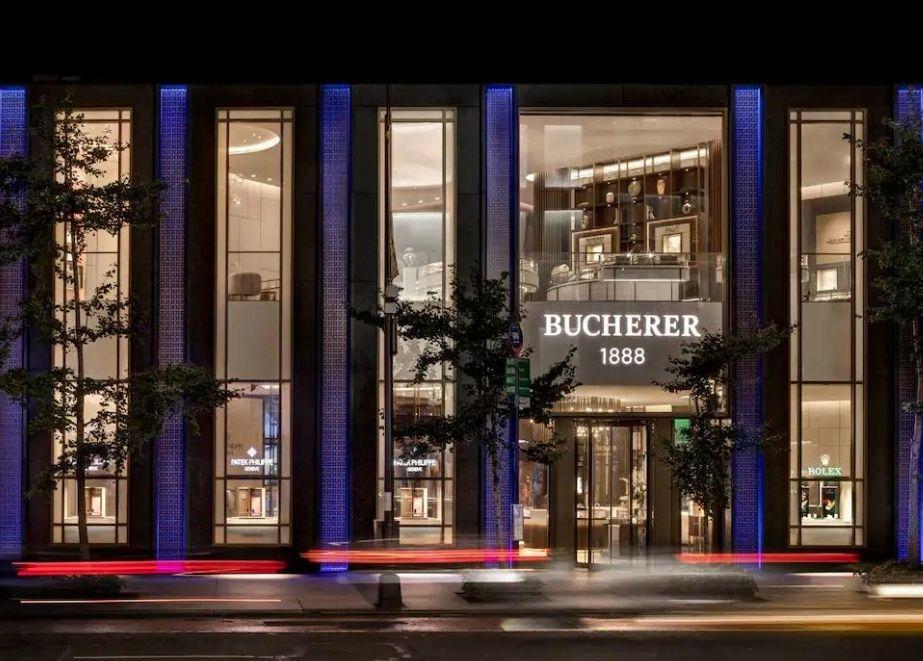 Der neue Laden von Bucherer in New York: Schaufenster für die Schweizer Uhrenindustrie. Quelle: ZVG